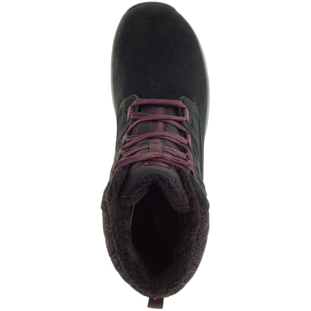 MERRELL Women's Jovilee Artica Waterproof Boots, Black - BLACK/HUCKLEBERRY