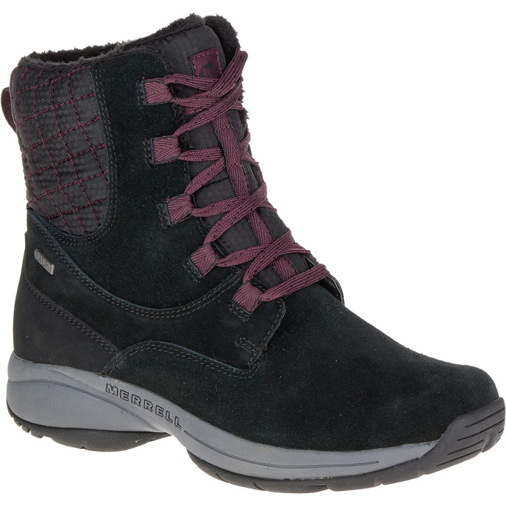 MERRELL Women's Jovilee Artica Waterproof Boots, Black - Eastern ...
