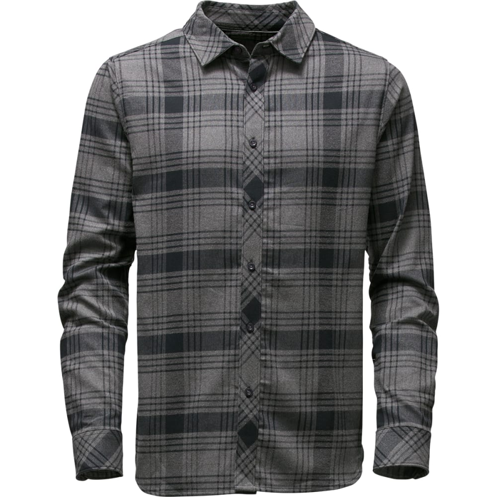 The north face mens approach flannel shirt eastern mountain sports the north face men39s approach flannel shirt jk3 tnf black sciox Images