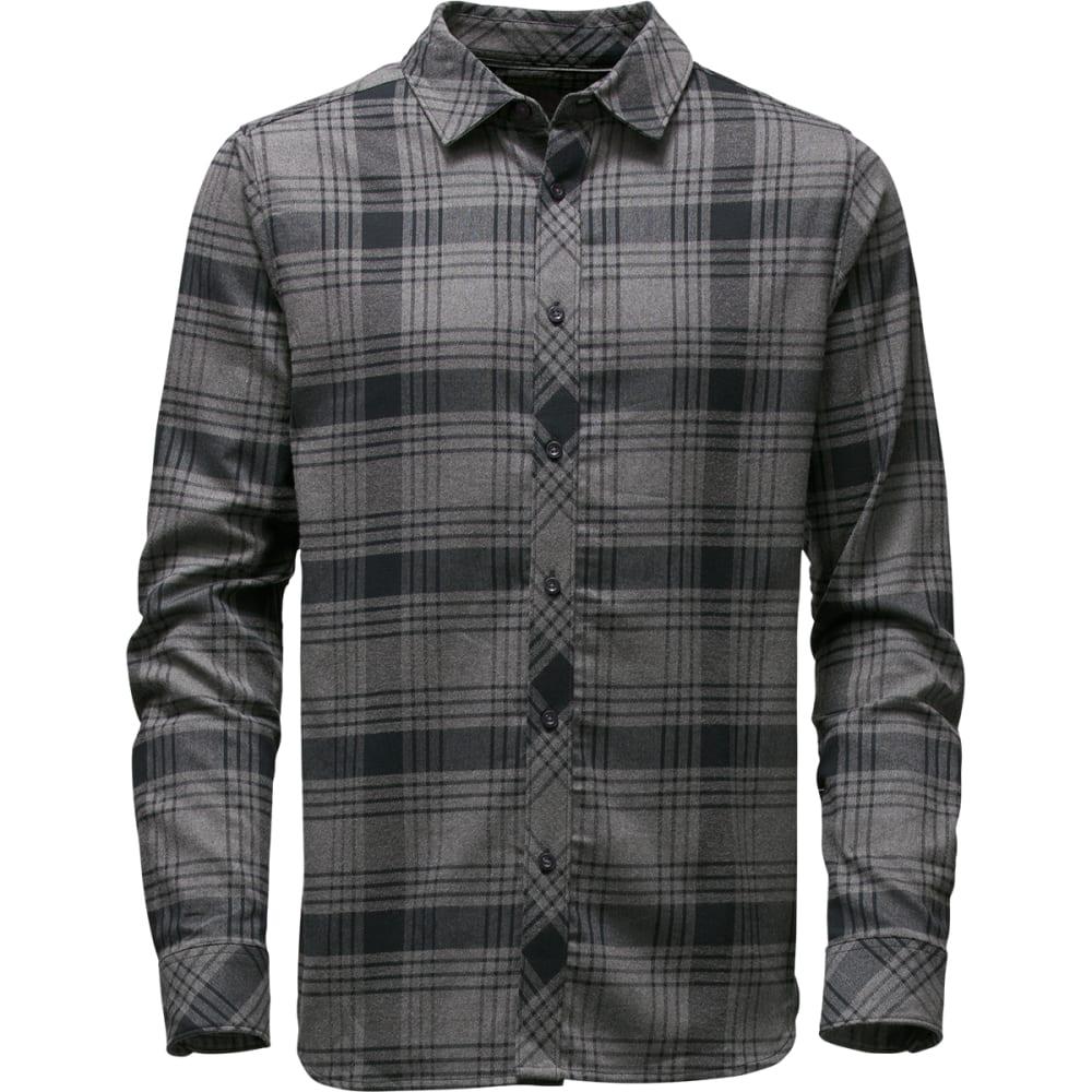 THE NORTH FACE Men's Approach Flannel Shirt - JK3-TNF BLACK