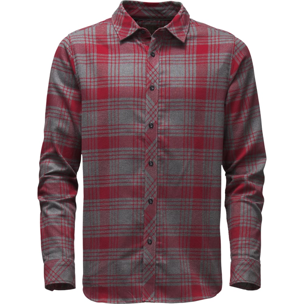 THE NORTH FACE Men's Approach Flannel Shirt - D5Q-BIKING RED