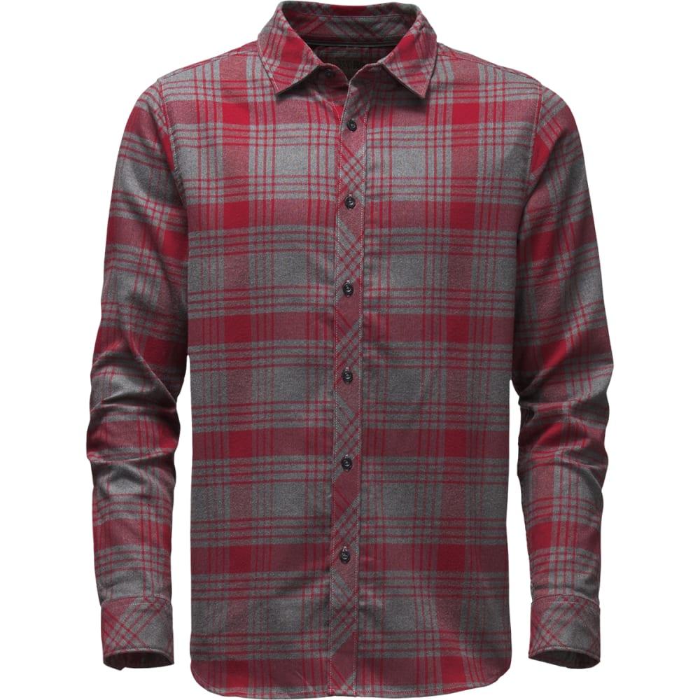 THE NORTH FACE Men's Approach Flannel Shirt - D5Q-BIKING RED