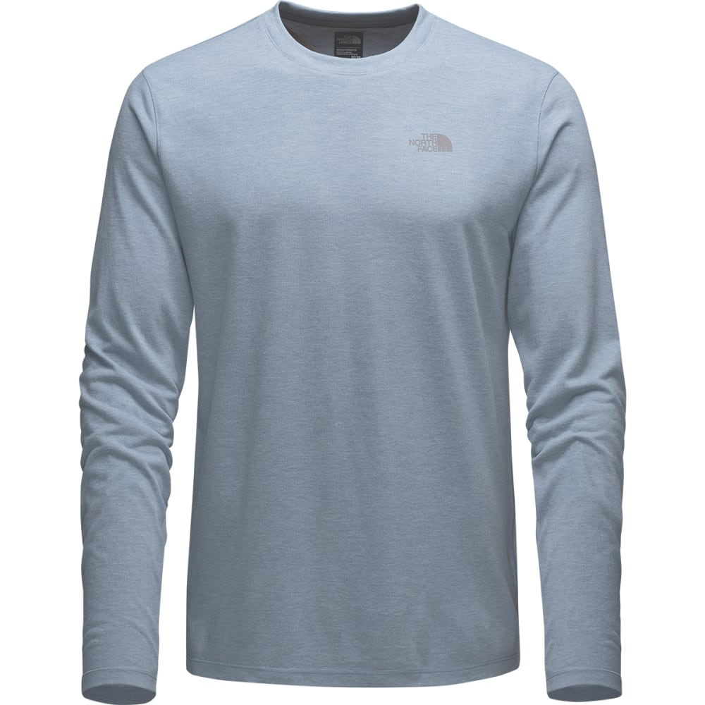 THE NORTH FACE Men's Long-Sleeve Crag Crew - WORN BLUE LT HEATHER