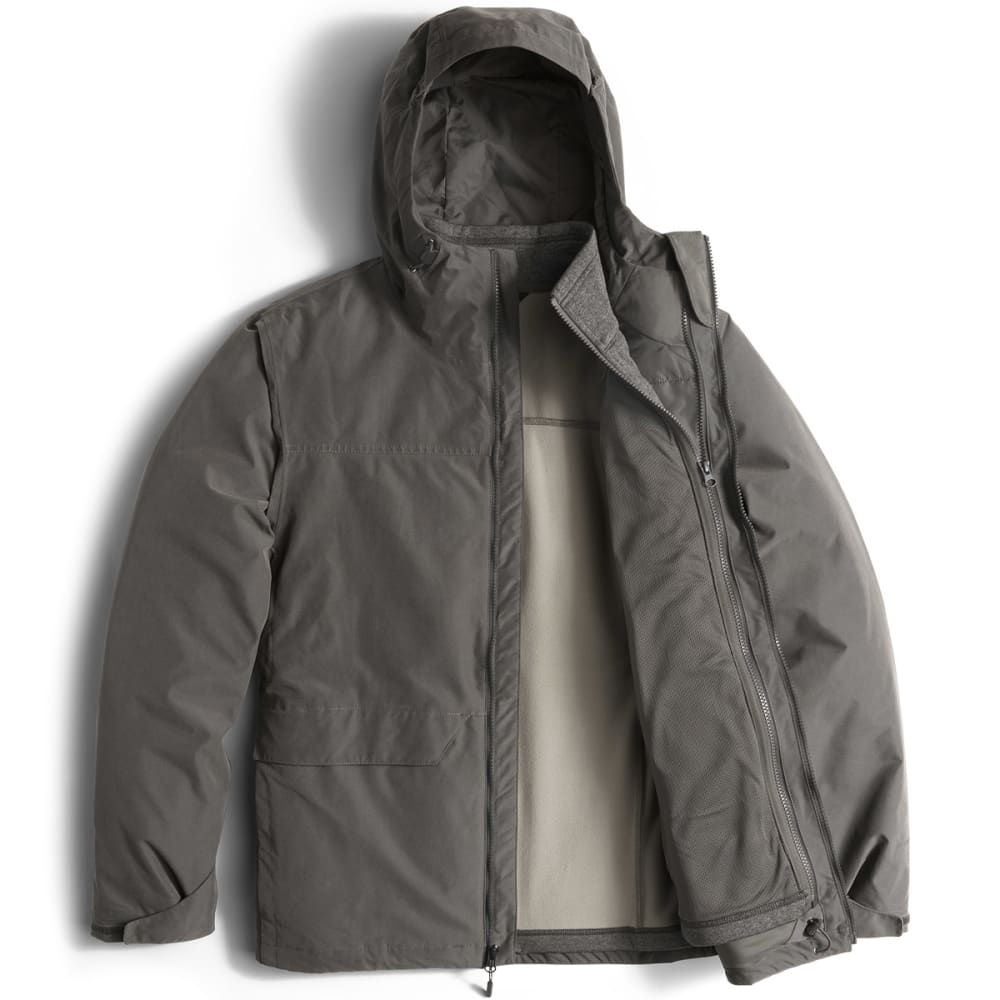 THE NORTH FACE Men's Canyonlands Triclimate Jacket - 0C5-ASPHALT GREY