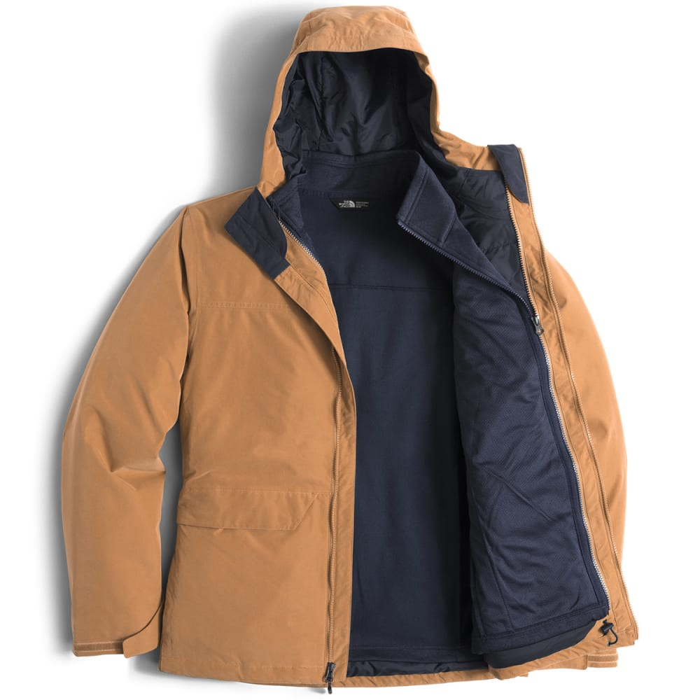 THE NORTH FACE Men's Canyonlands Triclimate Jacket - HCG-DIJON BROWN