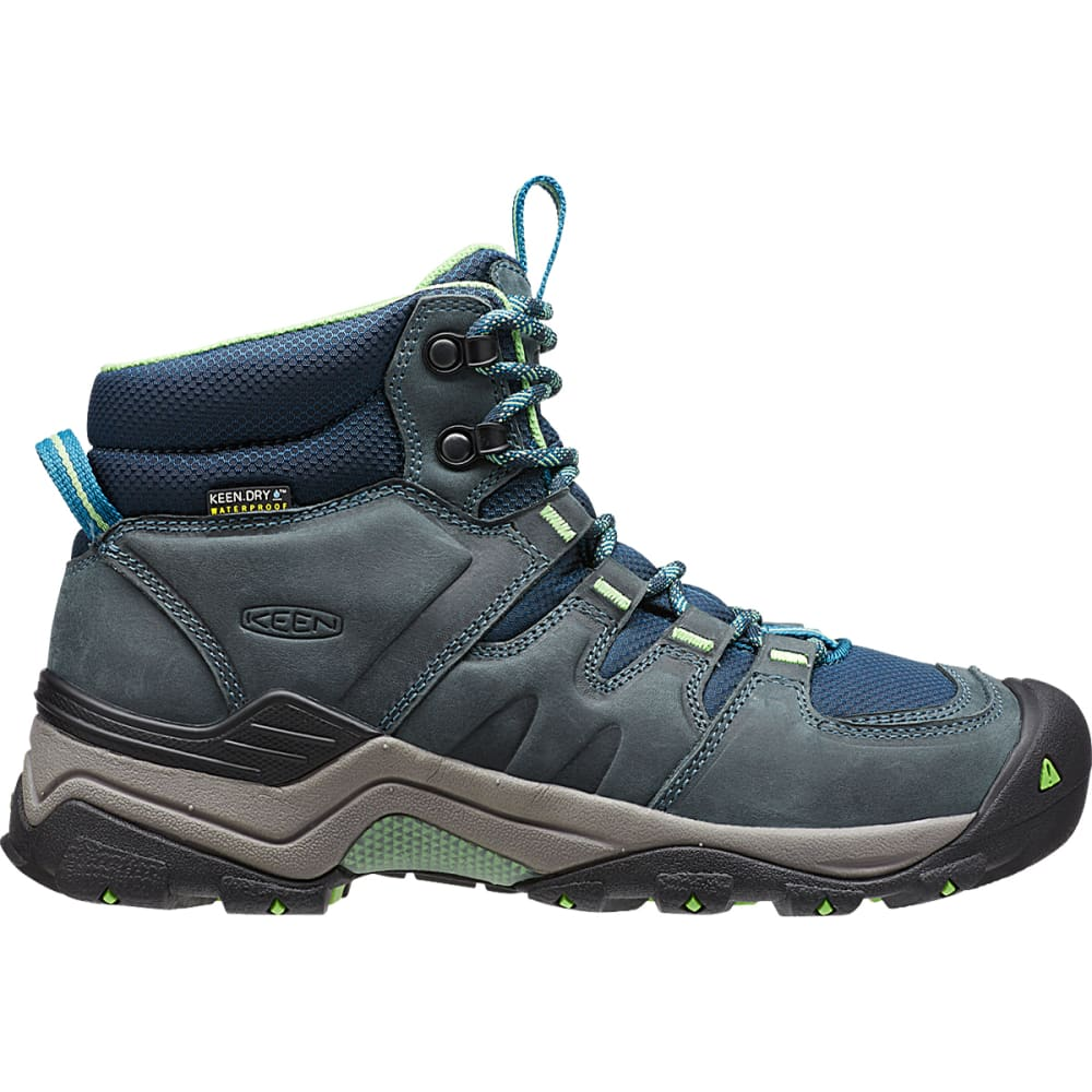 KEEN Women's Gypsum II Waterproof Boots, Navy - MIDNIGHT NAVY