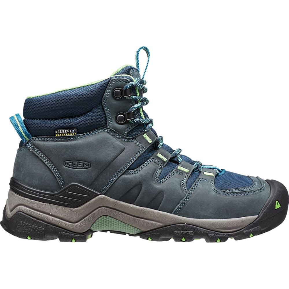 KEEN Women's Gypsum II Waterproof Boots, Navy - MIDNIGHT NAVY