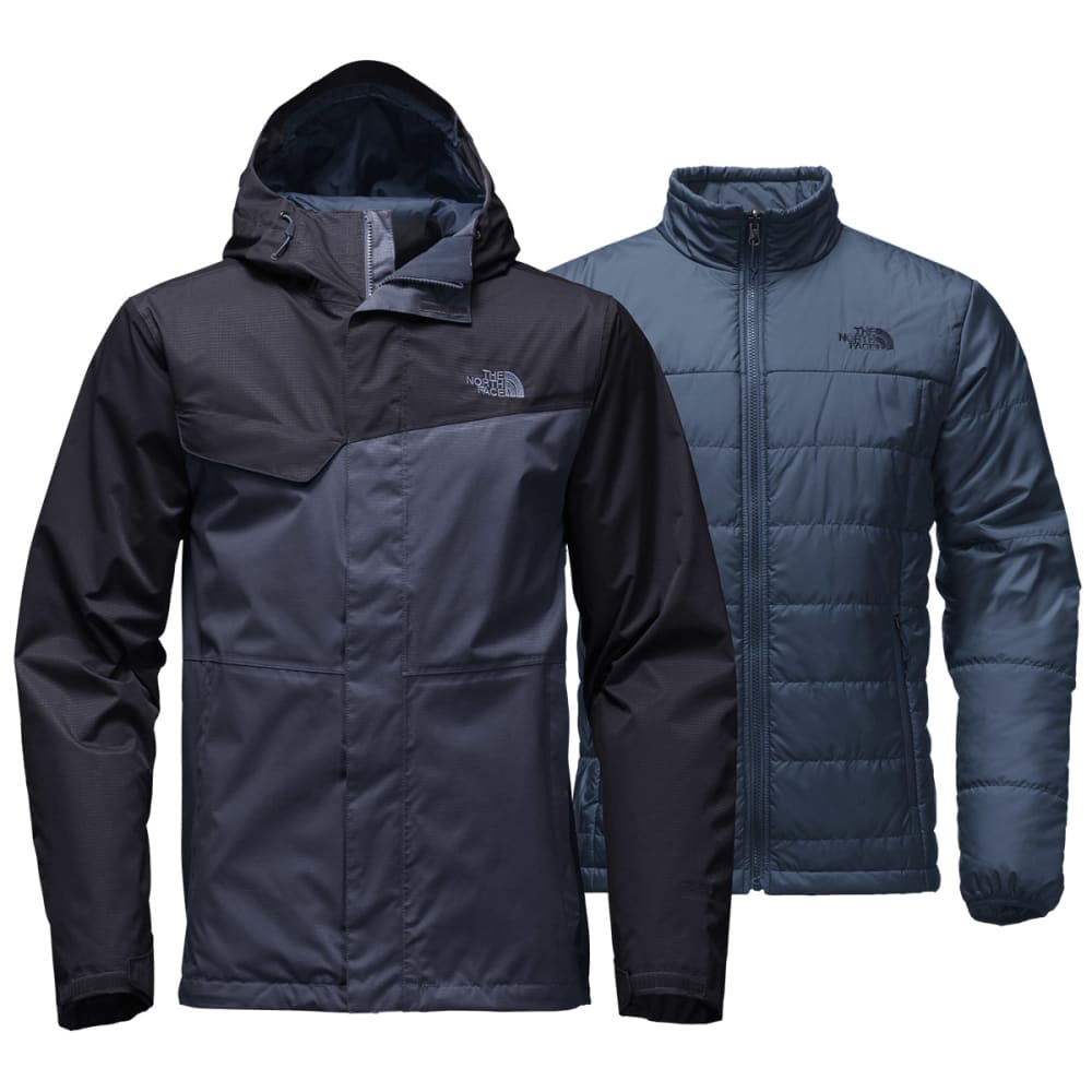 THE NORTH FACE Men's Beswick Triclimate Jacket - SHADY BLUE/URBAN NVY