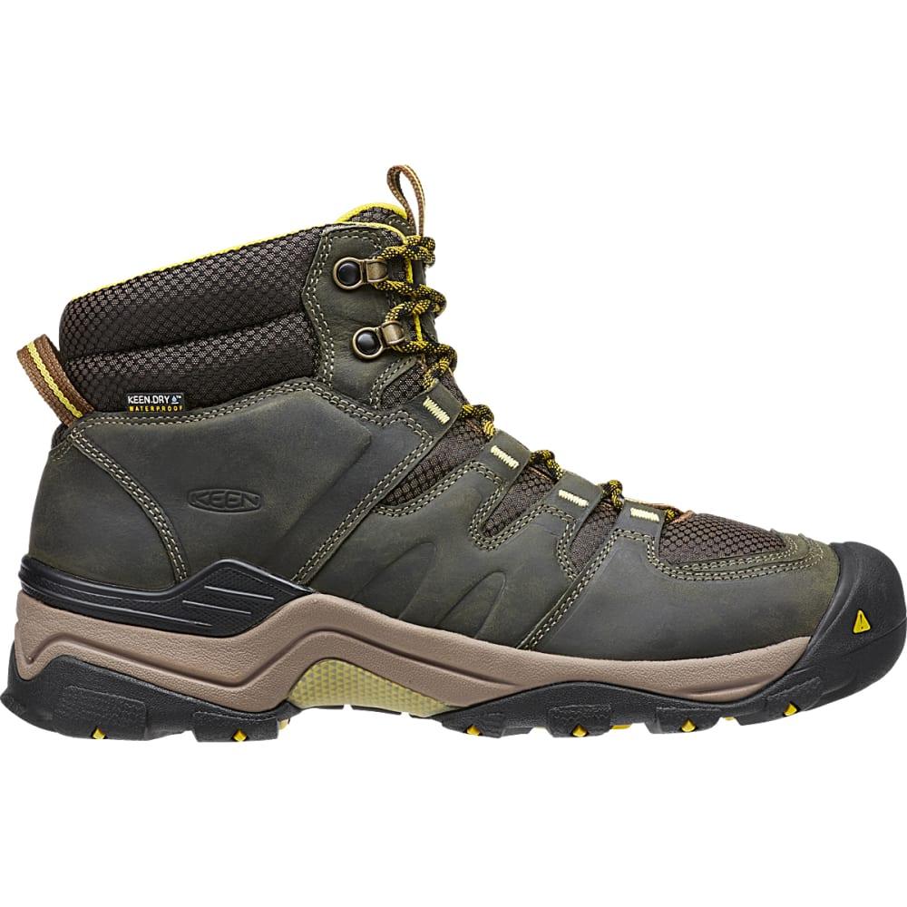 KEEN Men's Gypsum II Waterproof Boots, Forest Night - FOREST NIGHT/WARM OL