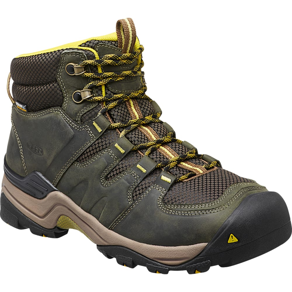 KEEN Men's Gypsum II Waterproof Boots, Forest Night - FOREST NIGHT/WARM OL