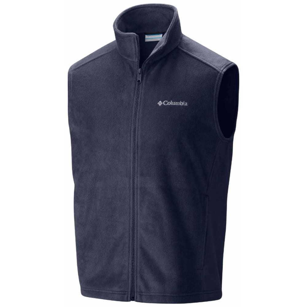 COLUMBIA Men's Steens Mountain Fleece Vest - COLLEGIATE NAVY-464