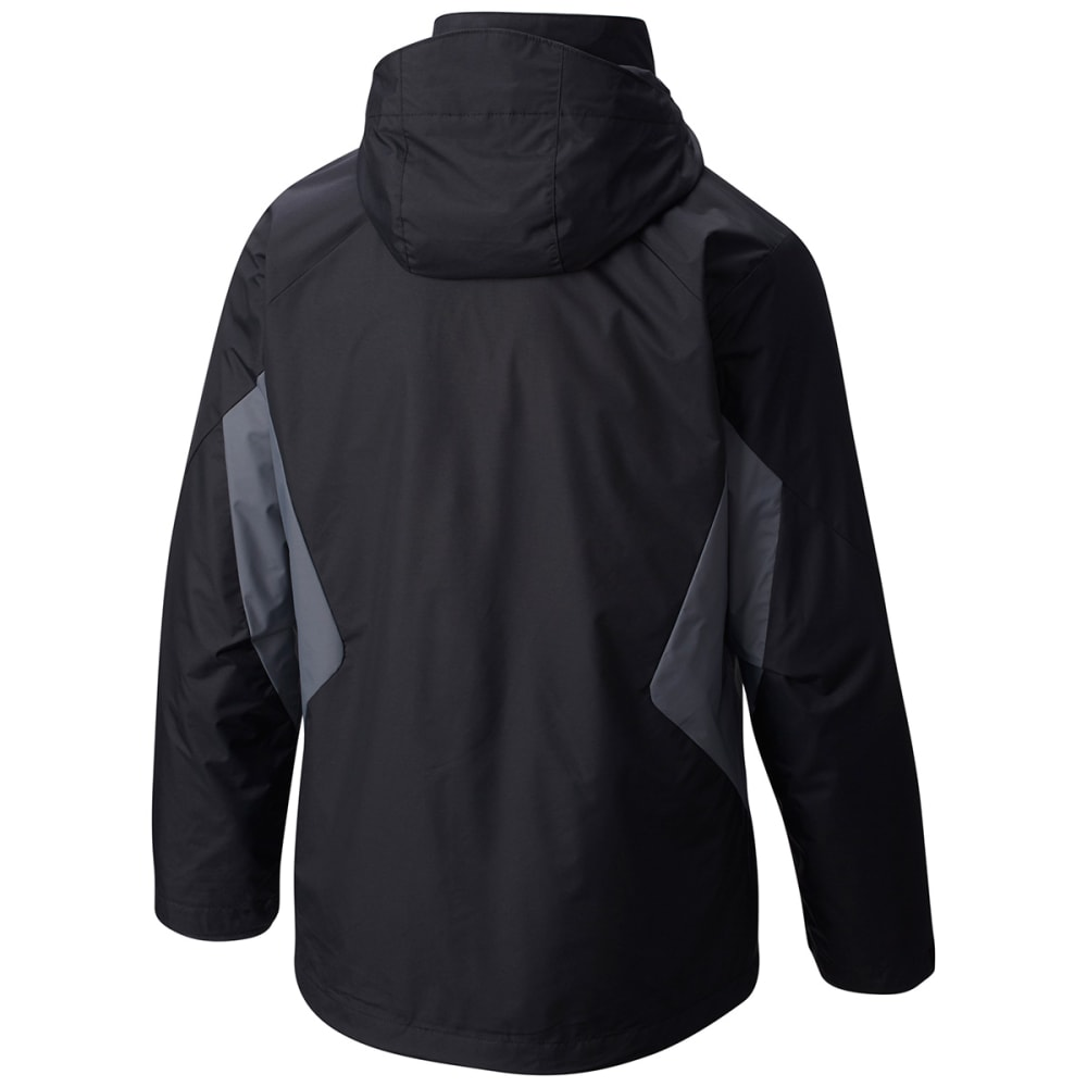 COLUMBIA Men's Eager Air Interchange Jacket - BLACK/ GRAPH-010