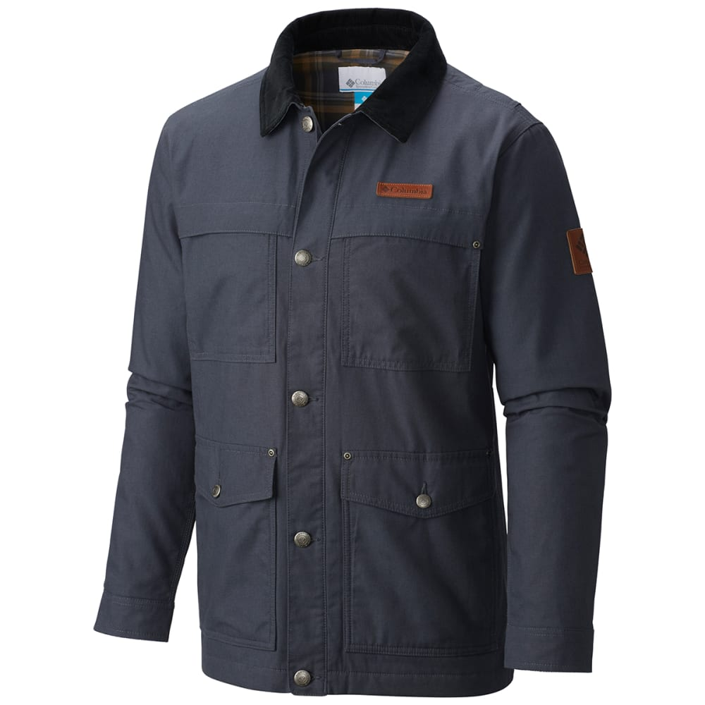 COLUMBIA Men's Loma Vista Flannel Jacket - 419-INDIA INK