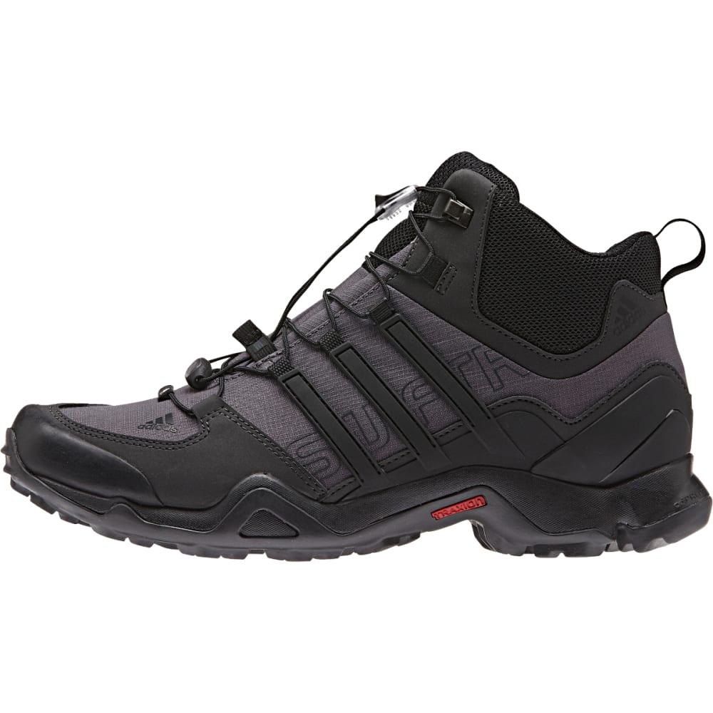 ADIDAS Men's Terrex Swift Mid Shoes, Granite - GRANITE/SHADOW BLACK
