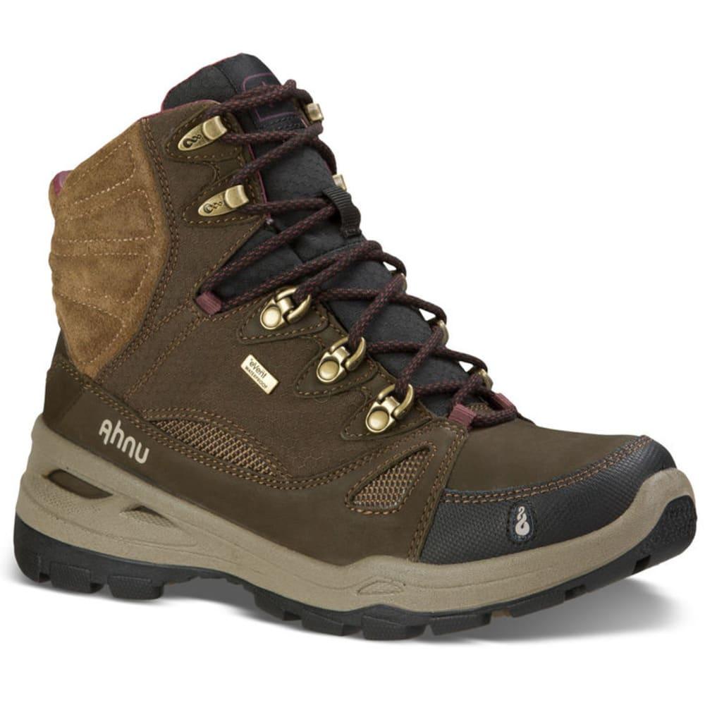 AHNU Women's North Peak eVent Boots, Smokey Brown - BROWN