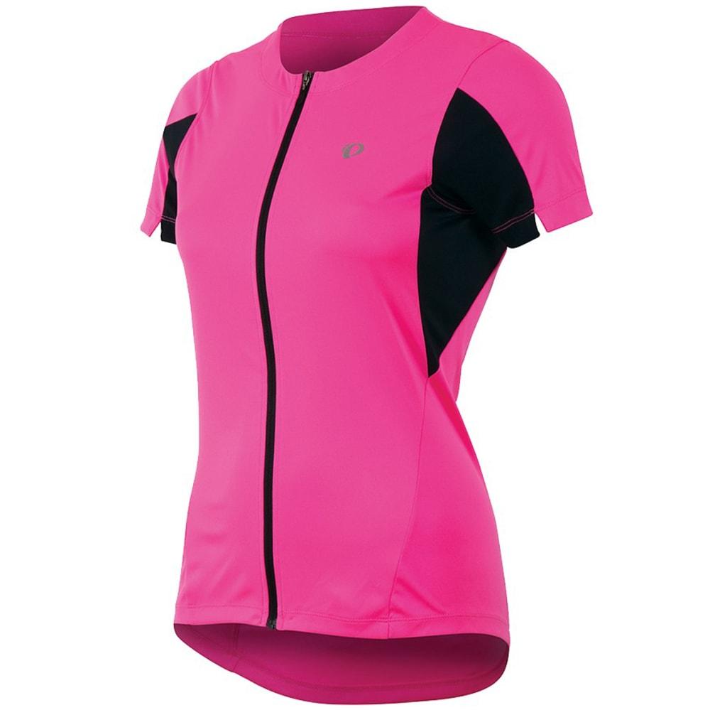 PEARL IZUMI Women's Select Bike Jersey - SCREAMING PINK -4SS