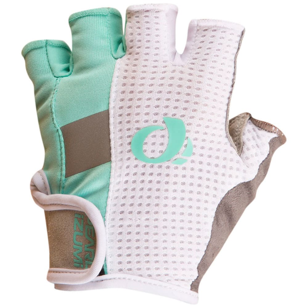 PEARL IZUMI Women's Elite Gel Cycling Gloves - AQUA MINT - 4VT