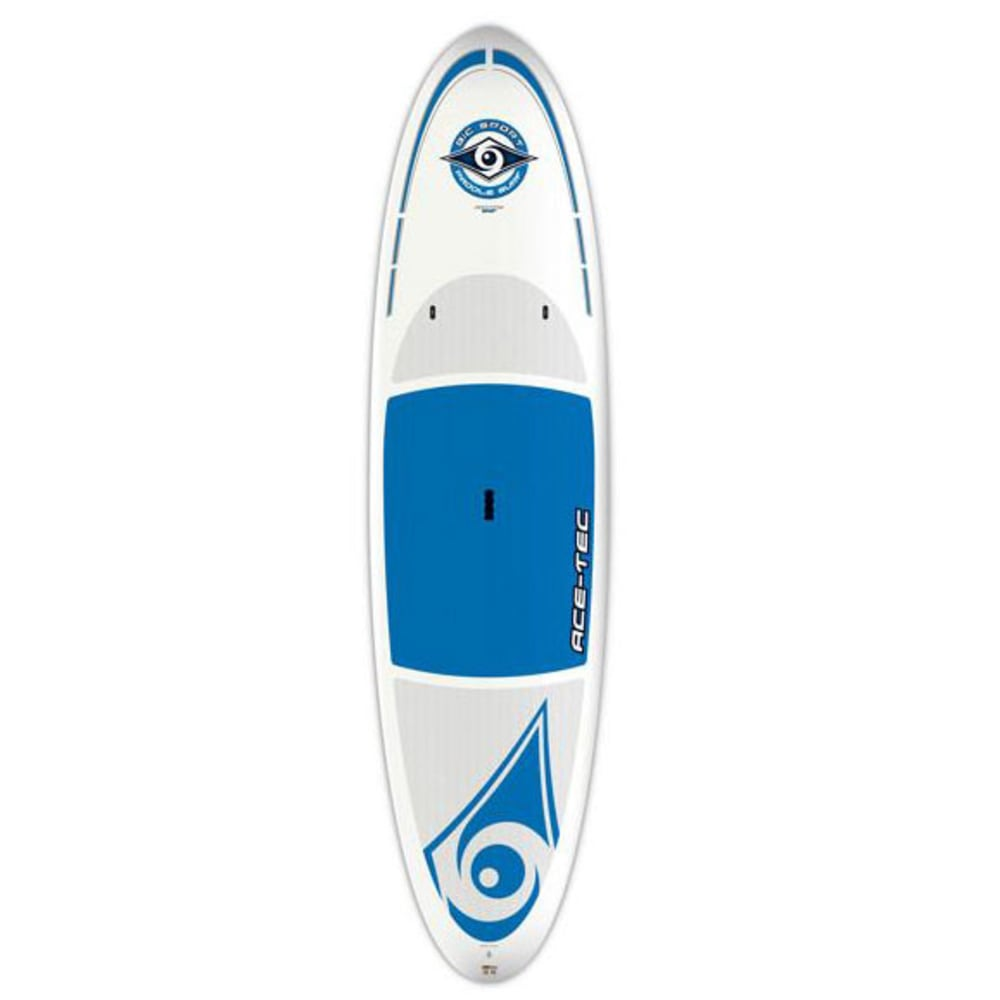 "BIC Ace-Tec Original 10'6"" Stand Up Paddleboard  - WHITE/BLUE"