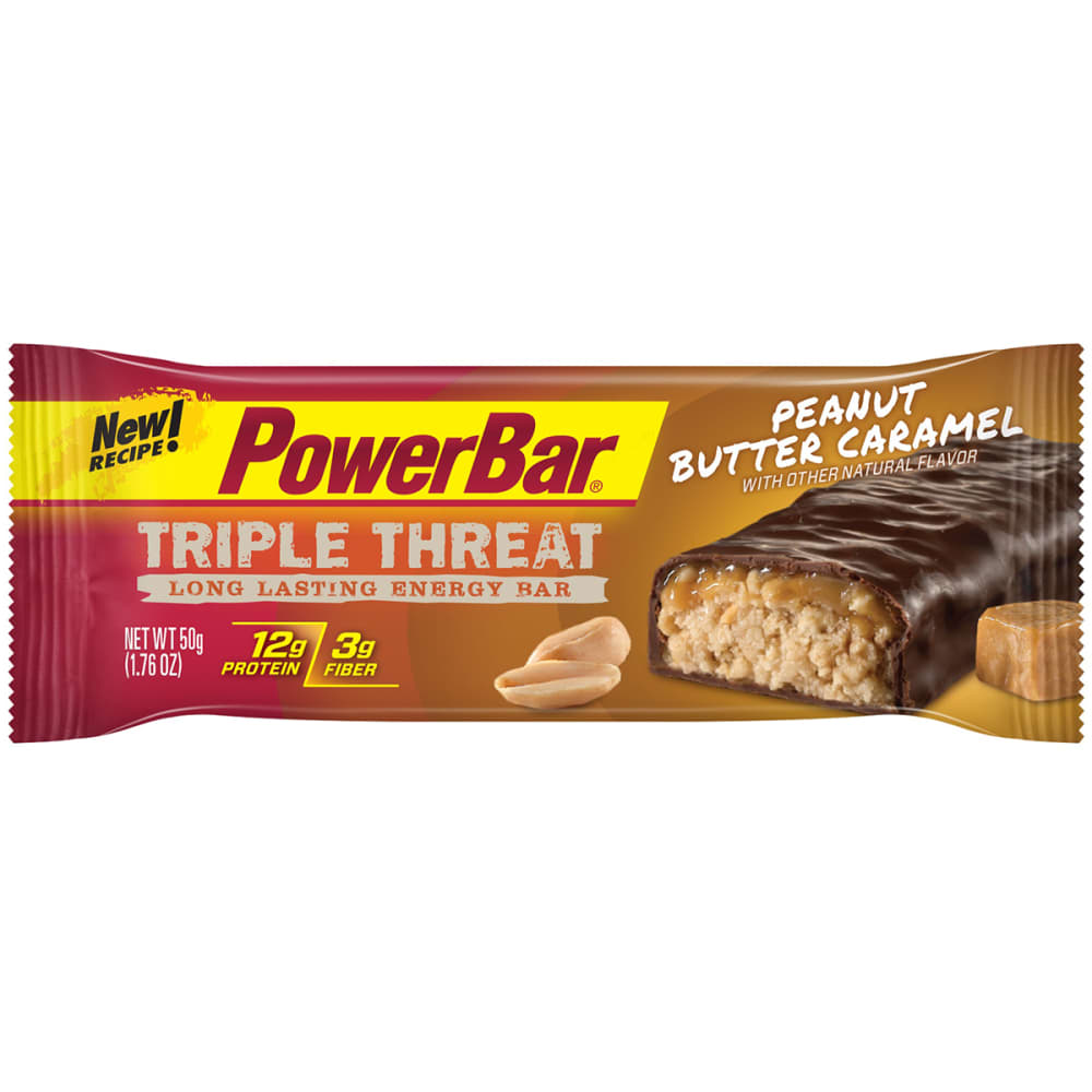 POWERBAR Triple Threat Peanut Butter Caramel - NO COLOR