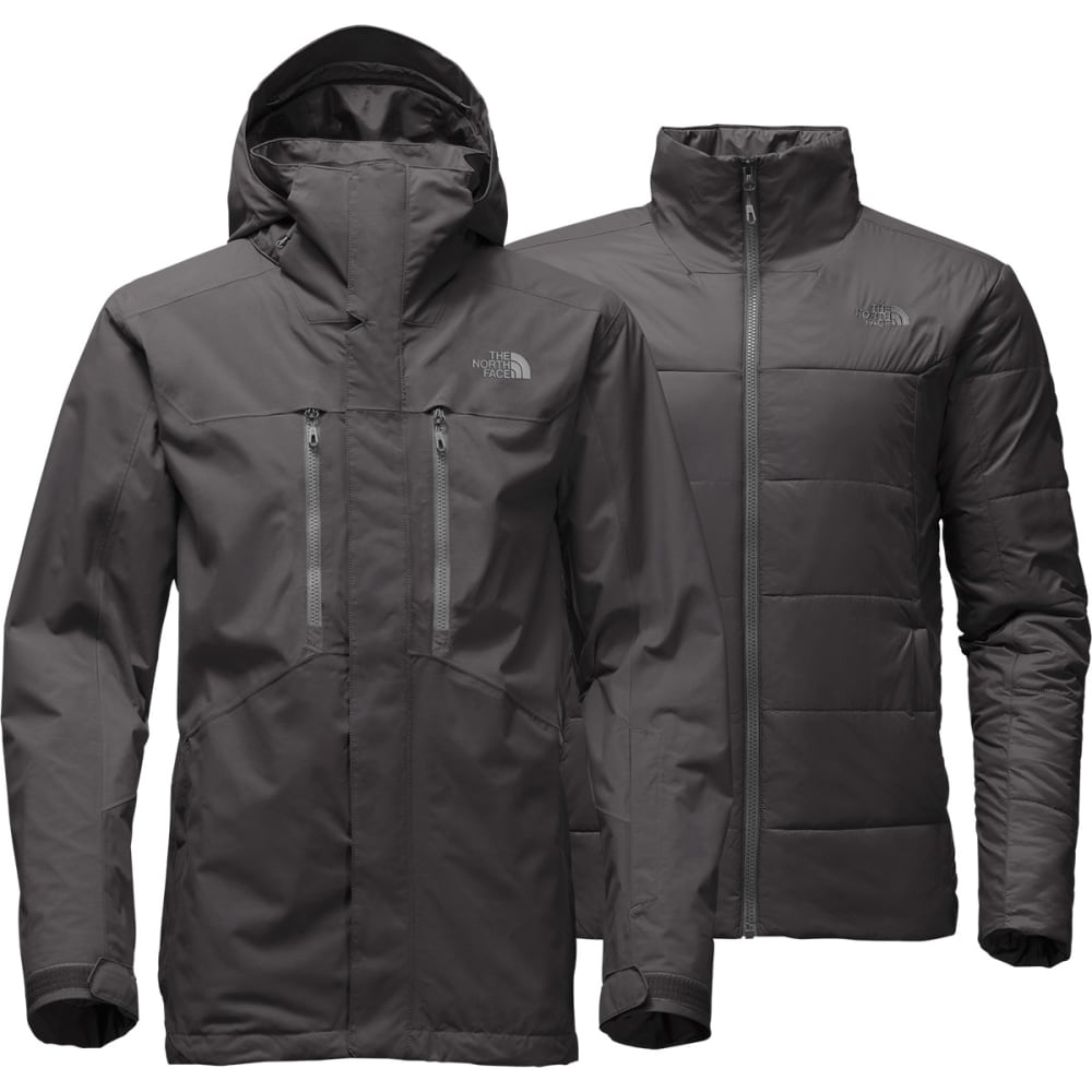 THE NORTH FACE Men's Clement Triclimate Jacket - 0C5-ASPHALT GREY