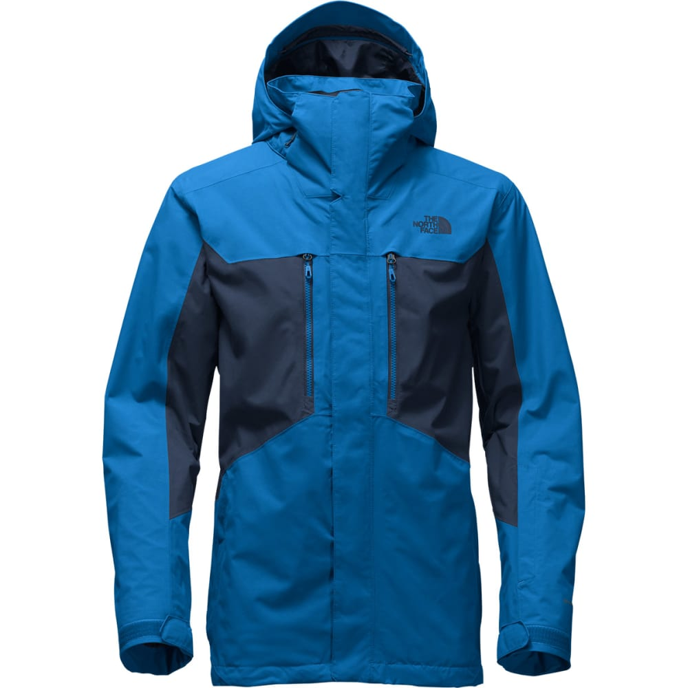 THE NORTH FACE Men's Clement Triclimate Jacket - LUU-BOOMER BLU/NVY