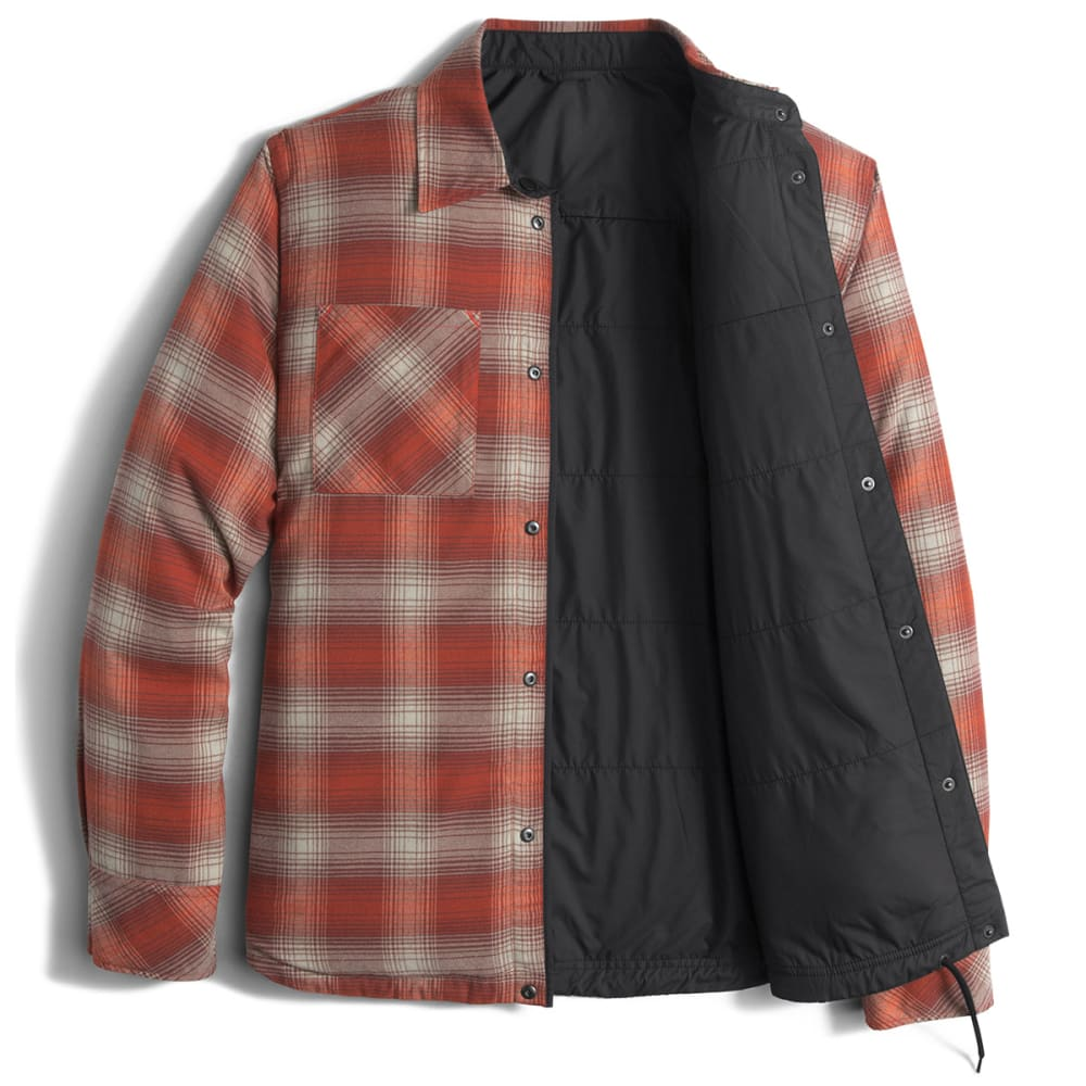 THE NORTH FACE Men's Fort Point Flannel Jacket - JK3-TNF BLACK
