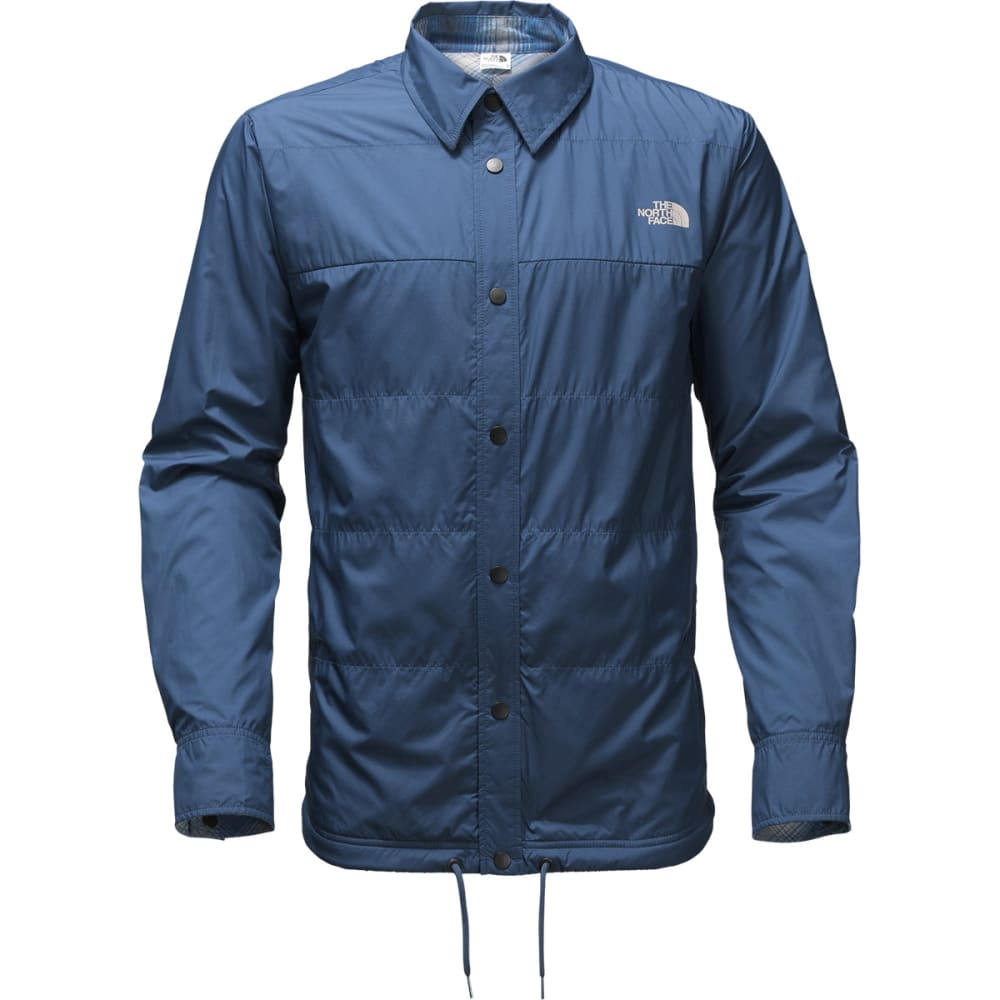 THE NORTH FACE Men's Fort Point Flannel Jacket - HDC-SHADY BLUE/NVY