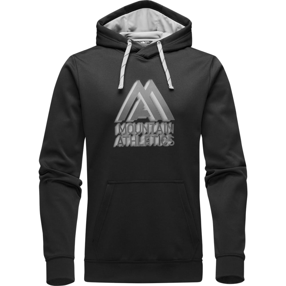THE NORTH FACE Men's MA Graphic Surgent Hoodie - ETR-NF BLK/MILD GREY