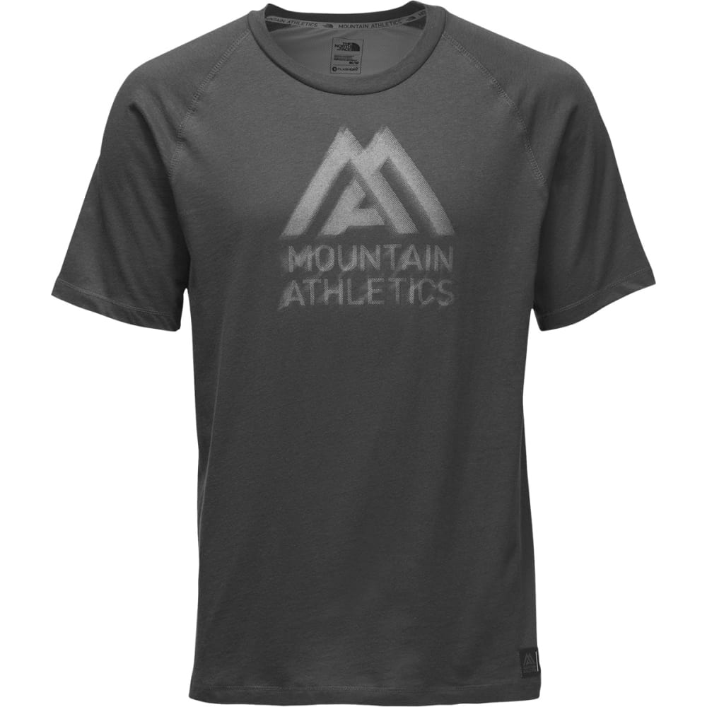 THE NORTH FACE Men's Recking G Crew Graphic Tee - TNK DK GREY HEATHER