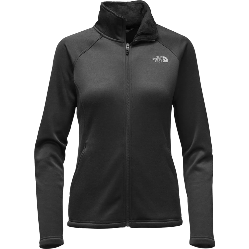 THE NORTH FACE Women's Agave Full-Zip Jacket - KS7-TNF BLK HTHR/GRY