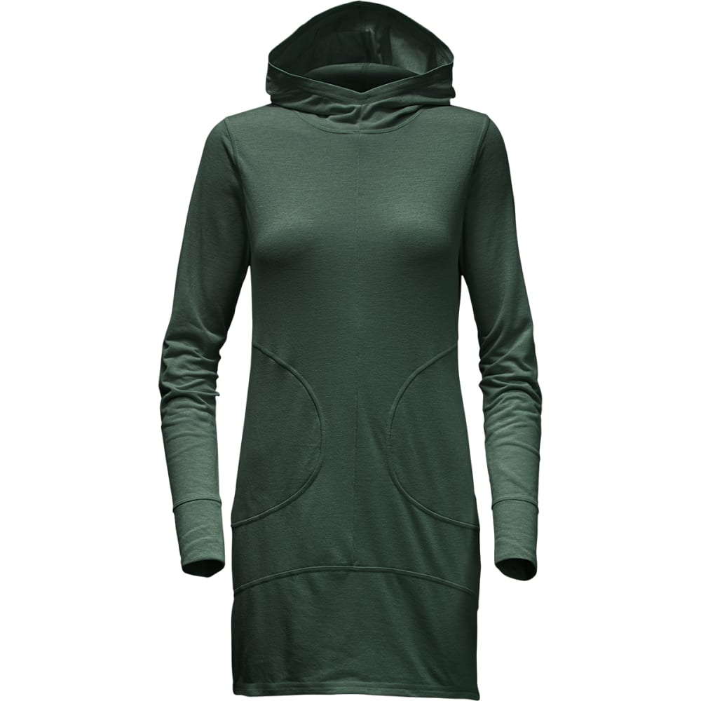 THE NORTH FACE Women's Hooded FlashDry Dress - JRH-SCARAB GRN DK H