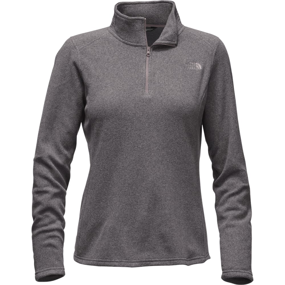 THE NORTH FACE Women's Glacier  ¼ Zip Fleece - HSR-RABBIT GREY H