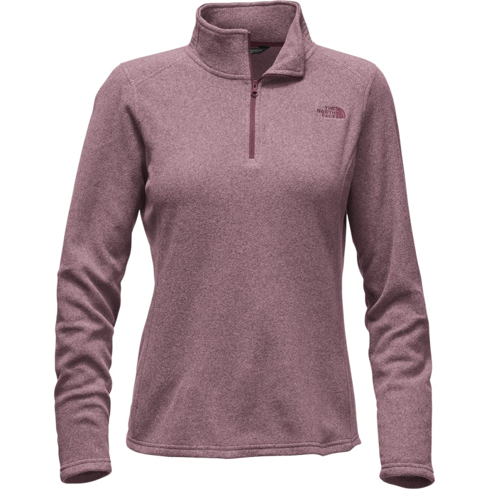 THE NORTH FACE Women's Glacier  ¼ Zip Fleece - HJM-DEEP GARNET RED