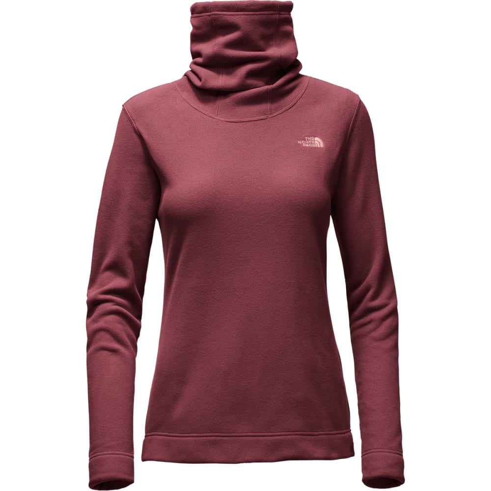 THE NORTH FACE Women's Novelty Glacier Pullover - HBM-DEEP GARNET RED