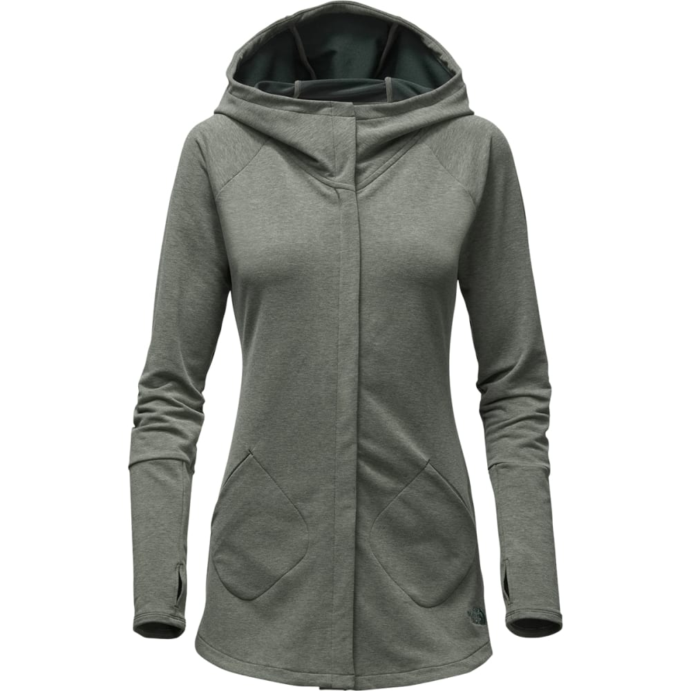 THE NORTH FACE Women's Wrap-Ture Full-Zip Jacket - DRK SPRUCE HEATHER