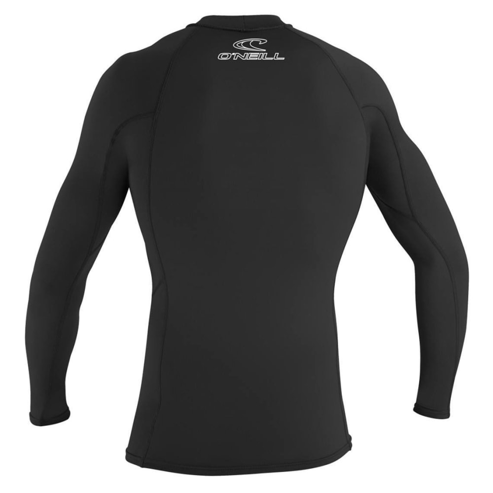 O'NEILL Men's Basic Skins L/S Crew Top - BLACK