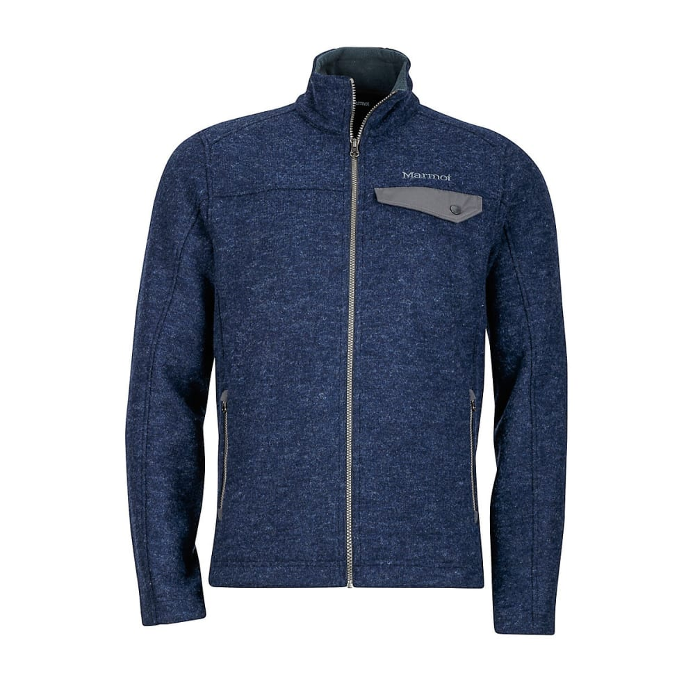 MARMOT Men's Poacher Pile Jacket - 2836-DARK INDIGO HEA