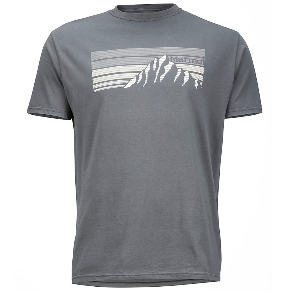 MARMOT Men's Norse Graphic Tee - 034-CHARCOAL