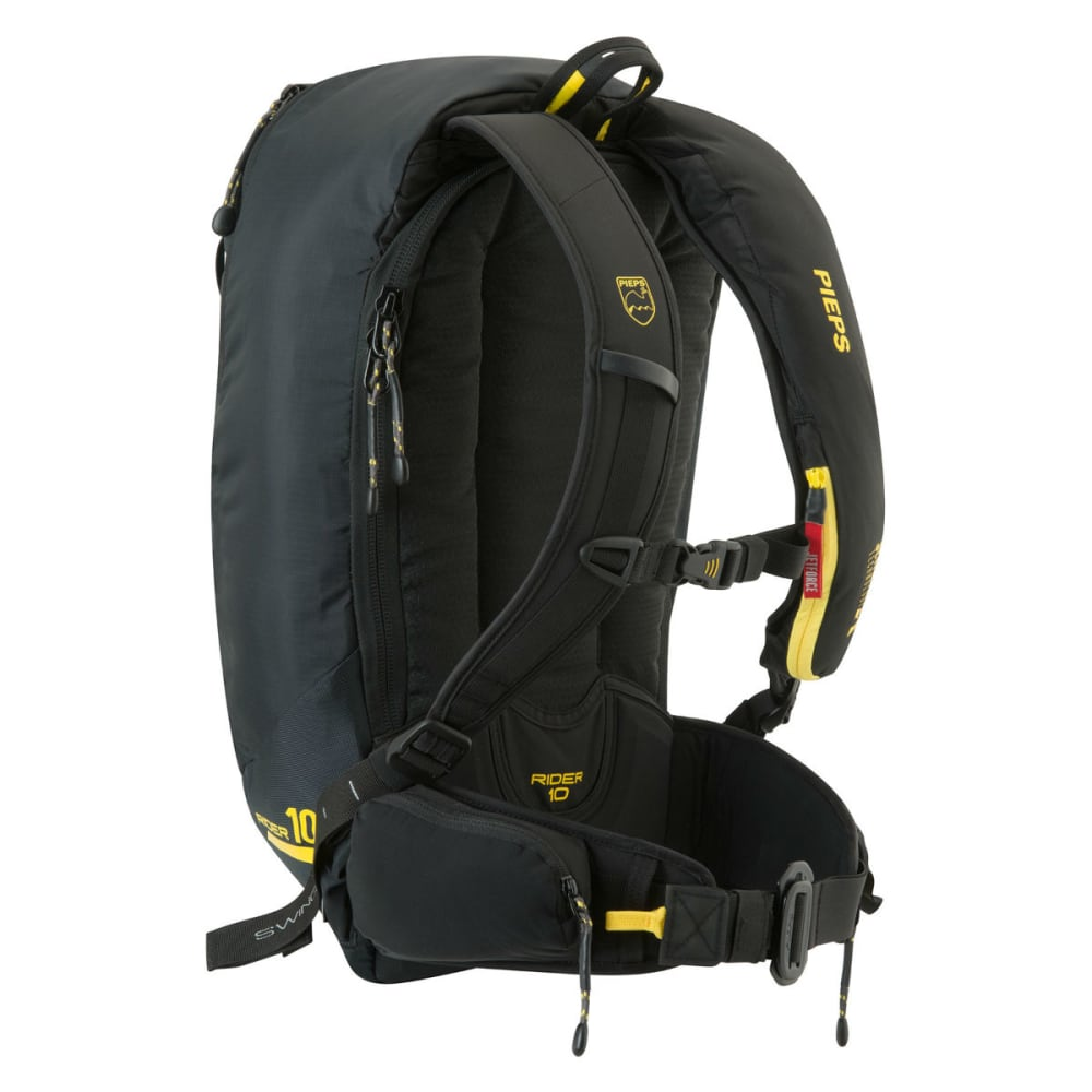 BLACK DIAMOND PIEPS Rider 10 JetForce Avalanche Airbag Pack - YELLOW