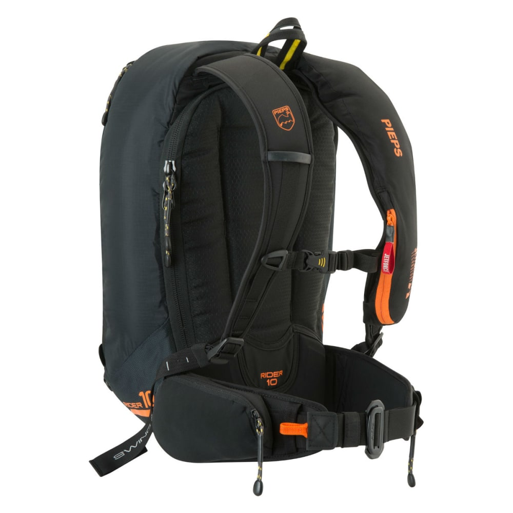 BLACK DIAMOND PIEPS Rider 10 JetForce Avalanche Airbag Pack - ORANGE