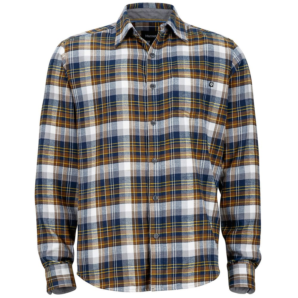 MARMOT Men's Fairfax Flannel Shirt - VINTAGE NAVY