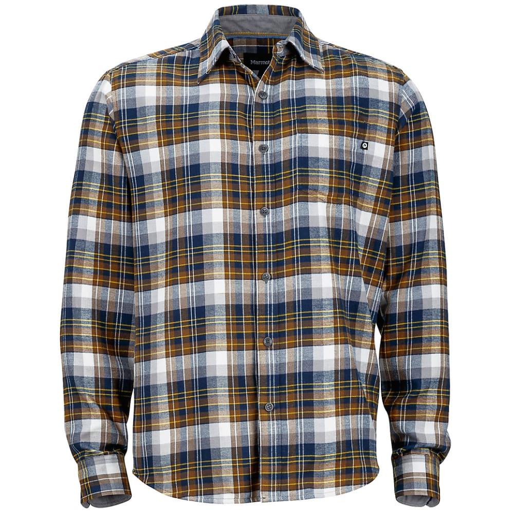 MARMOT Men's Fairfax Flannel Shirt - VINTAGE NAVY