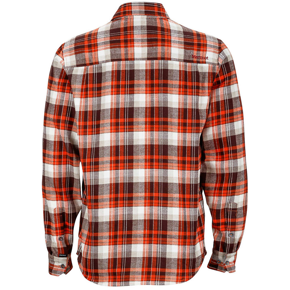 MARMOT Men's Fairfax Flannel Shirt - BRICK