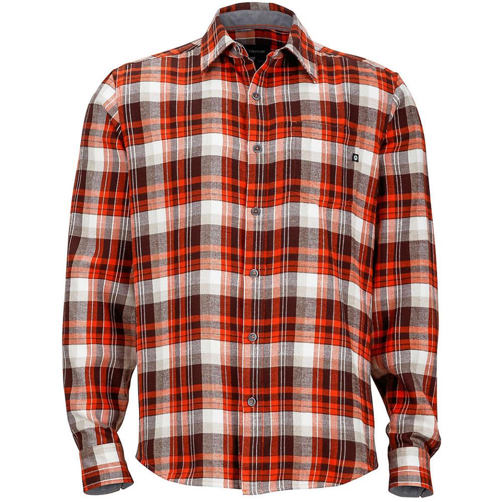 MARMOT Men's Fairfax Flannel Shirt - BRICK