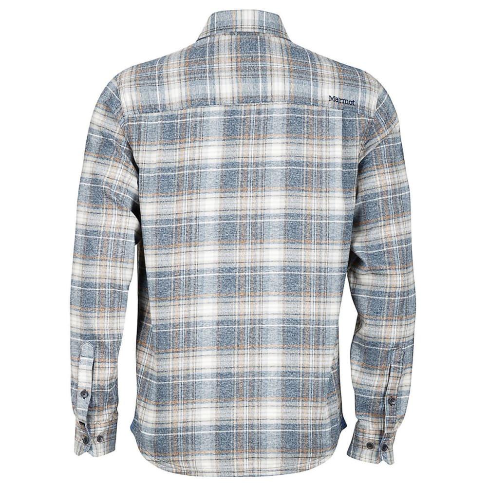 MARMOT Men's Jasper Flannel Shirt - 2835-DARK INDIGO