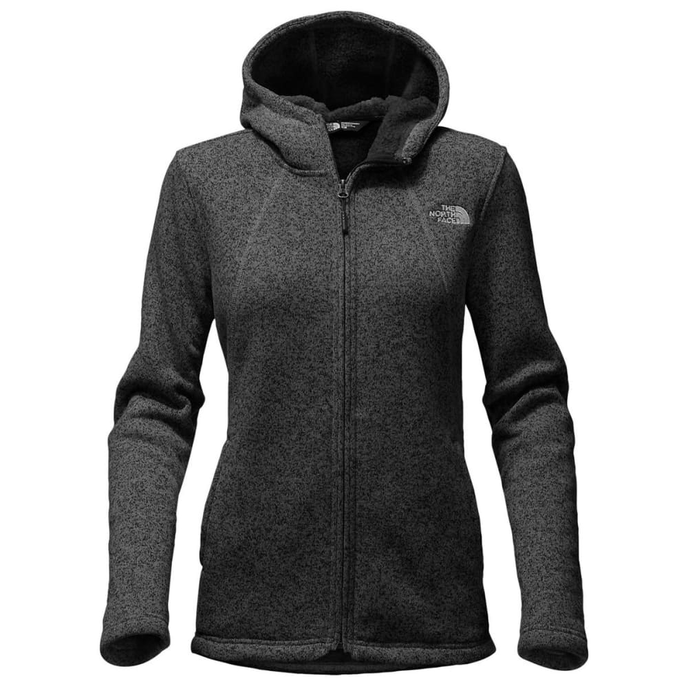 THE NORTH FACE Women's Crescent Full Zip Hoodie - TNF BLK HEATHER