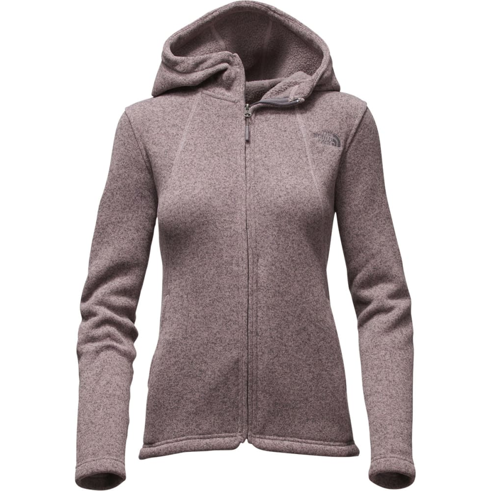 THE NORTH FACE Women's Crescent Full Zip Hoodie - HSQ QUAIL GREY