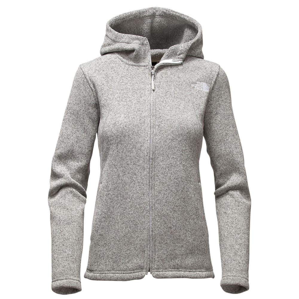 THE NORTH FACE Women's Crescent Full Zip Hoodie - LUNAR ICE GRY HEATHR