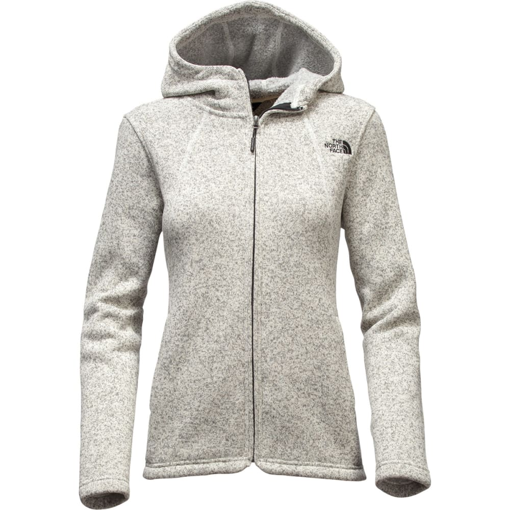 THE NORTH FACE Women's Crescent Full Zip Hoodie - 0ZX VINTAGE WHITE