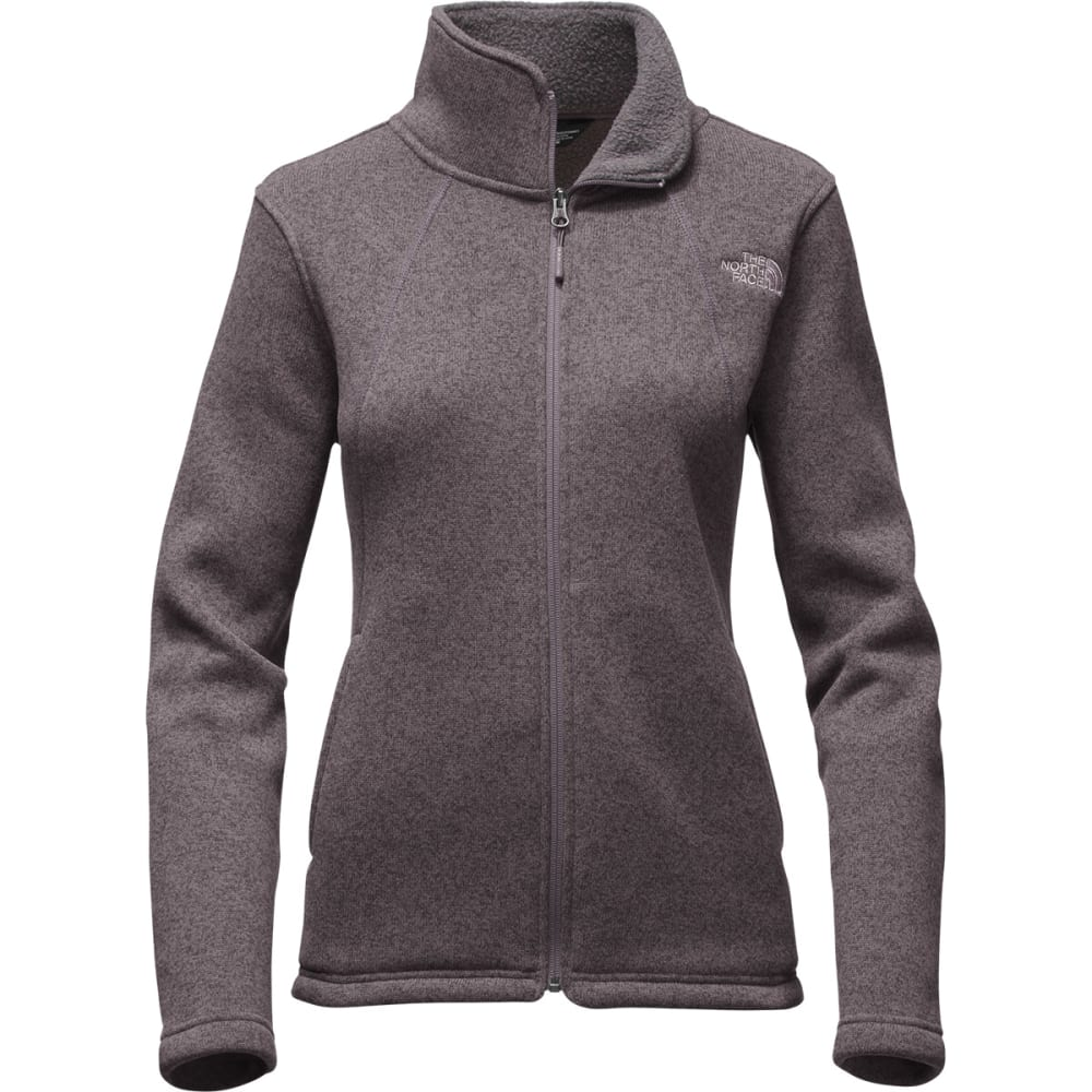 THE NORTH FACE Women's Crescent Full Zip Hoodie - RABBIT GREY HEATHER